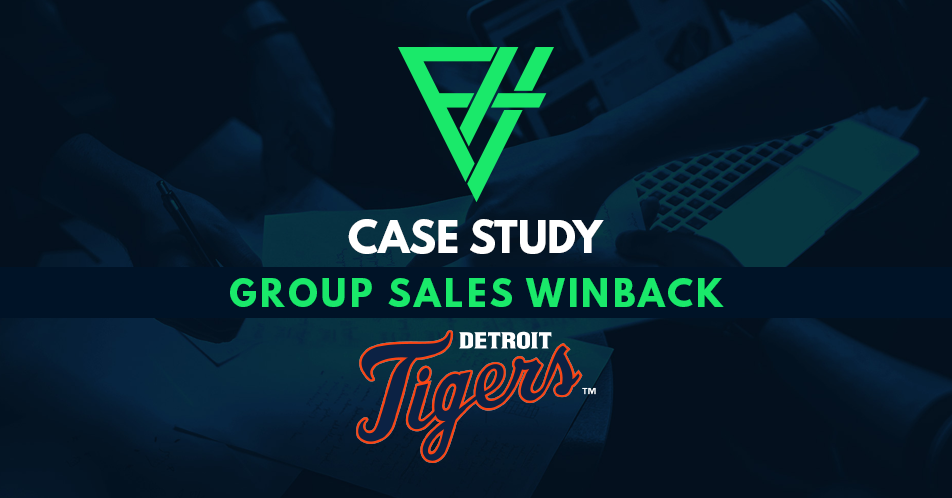 Case Study: Group Sales Winback - Detroit Tigers